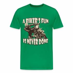 A Biker's Fun - Men's Premium T-Shirt