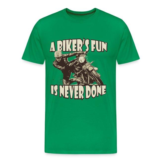 A Biker's Fun biker t-shirt