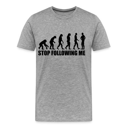 T-Shirt Following Me - T-shirt Premium Homme