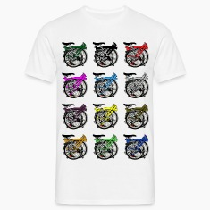 Brompton Bicycle Folded T-Shirts