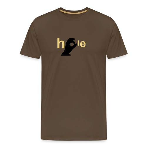 the (w)hole game - Men's Premium T-Shirt