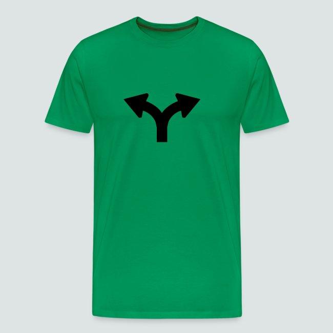 Links oder Rechts, Mens T-Shirt