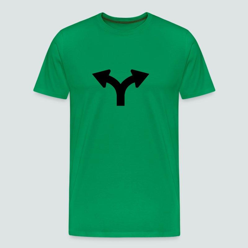 Links oder Rechts, Mens T-Shirt - Männer Premium T-Shirt