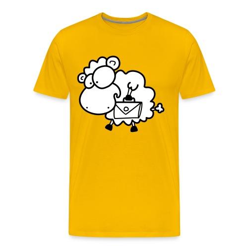 Koffer Packen Schaf - Männer Premium T-Shirt