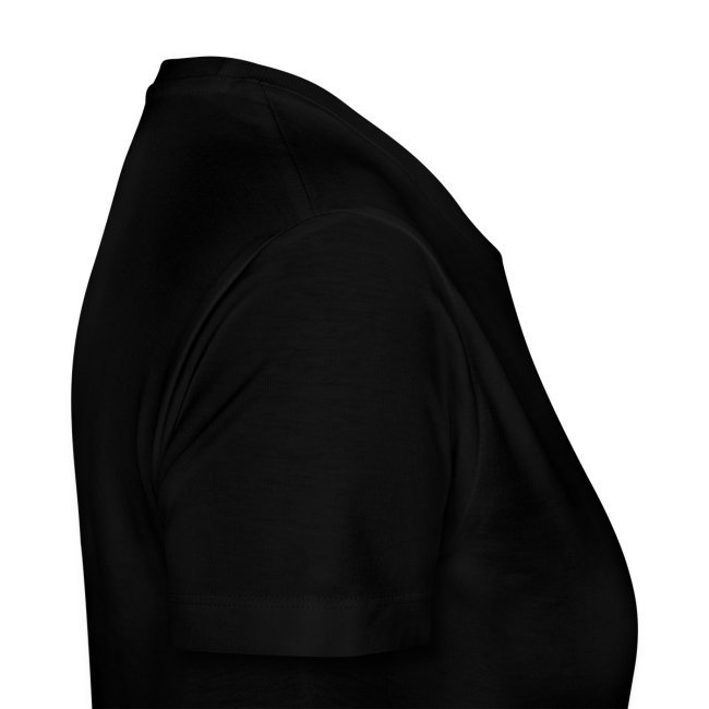 Uglesett dame t-skjorte sort