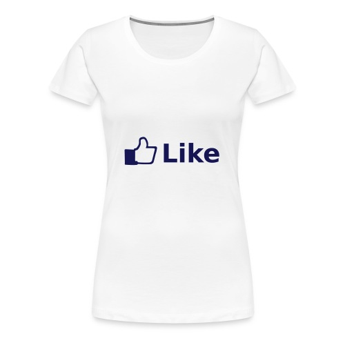 Women's Premium T-Shirt - FACEBOOK