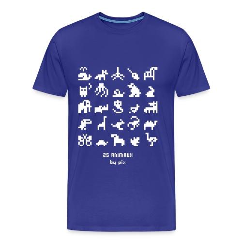 T-shirt-jeu 25·animaux - T-shirt Premium Homme