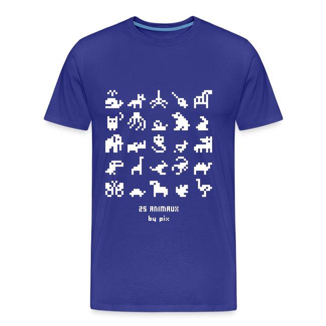 T-shirt-jeu 25·animaux