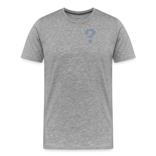 Fragezeichen-T-Shirt - Männer Premium T-Shirt