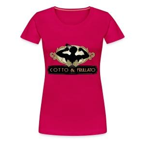 T-Shirt donna extrasize Cotto & Frullato - Maglietta Premium da donna