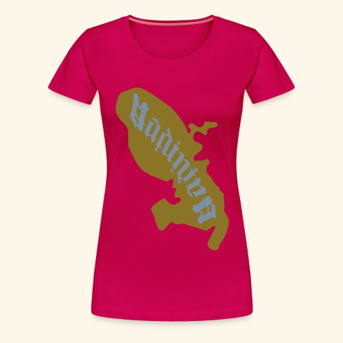 Madinina carte Martinique - T-shirt Premium Femme