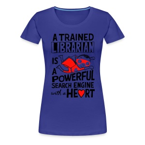 Super Librarian t-shirt - Women's Premium T-Shirt