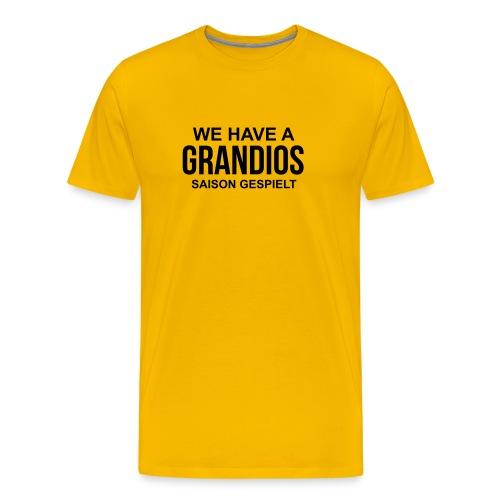 WE HAVE -gelb- - Männer Premium T-Shirt