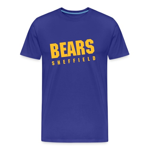 BEARS Vintage Tee - Royal Blue (Limited Edition) - Men's Premium T-Shirt