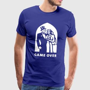 game_over Camisetas - Camiseta premium hombre
