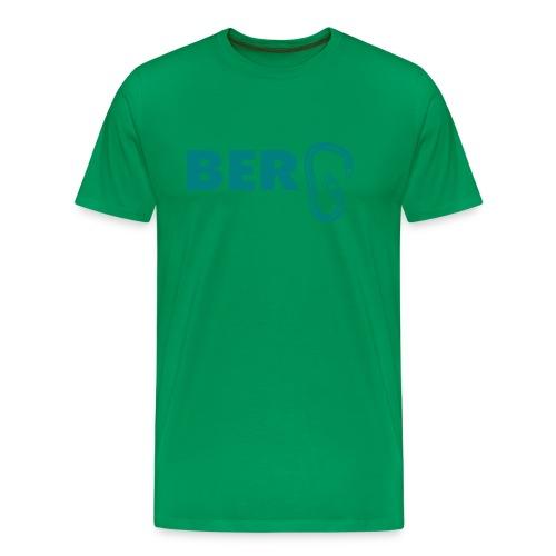 Typo Berg mit Karabiner - Männer Premium T-Shirt