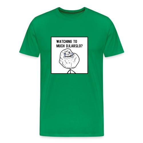 'Forever Alone Meme' T-shirt - Mannen Premium T-shirt
