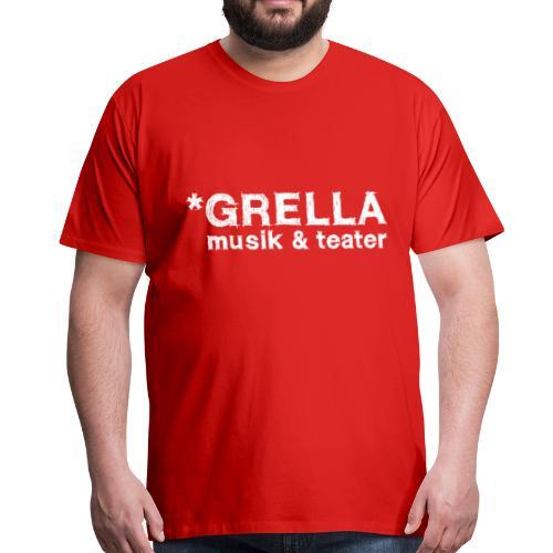 Grella musik & teater official shirt - Premium-T-shirt herr