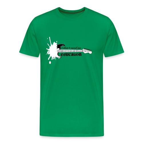 Rock  Guitarre Musik - Männer Premium T-Shirt