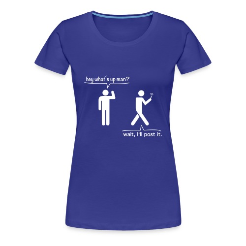 smartphoneguy - Frauen Premium T-Shirt
