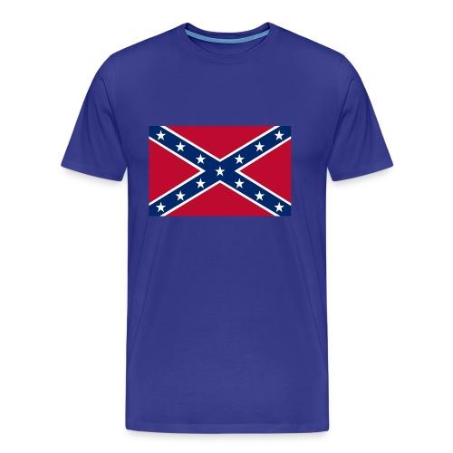 T-skjorte med sørstatsflagg - Premium T-skjorte for menn