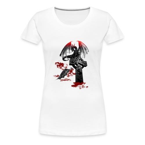 Drago gotico - Maglietta Premium da donna