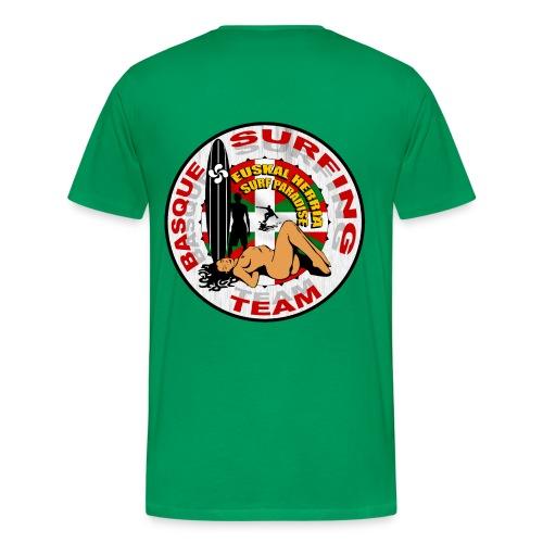 Basque Surfing Team - Men's Premium T-Shirt