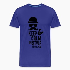 Like a keep calm in swag style boss sprüche Tee shirts