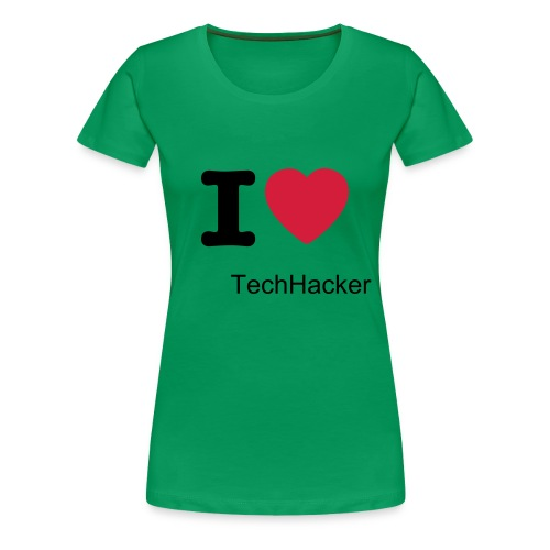 Women TechHacker Fan T-Shirt - Women's Premium T-Shirt