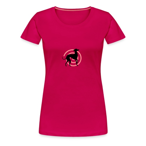 Petit Lévrier Focus - T-shirt Premium Femme