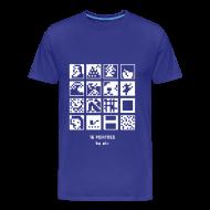Tee shirts ~ Tee shirt Premium Homme ~ T-shirt-jeu 16·peintres