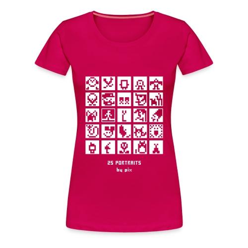 T-shirt-jeu BD/Animation - T-shirt Premium Femme