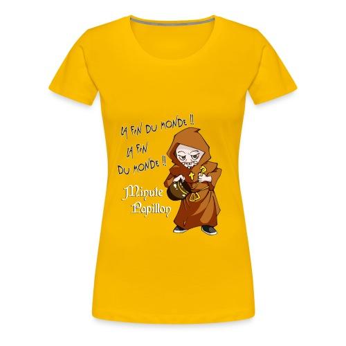Mini-Kriss - La fin du monde - T-Shirt femme - T-shirt Premium Femme