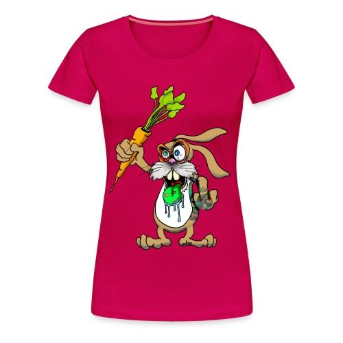 beschwer-hase grrrls - Frauen Premium T-Shirt