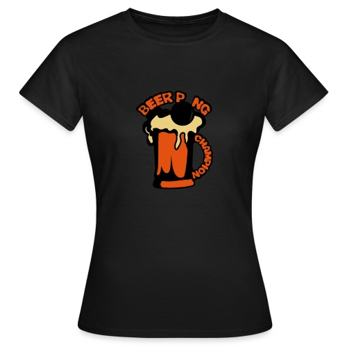 Beer Pong biere Femme  - T-shirt Femme