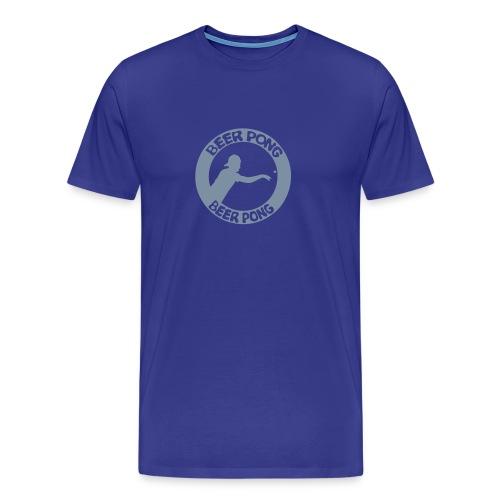 Logo Beer Pong cercle Homme - T-shirt Premium Homme