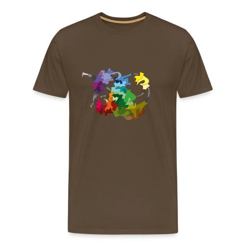 Constructed - Mannen Premium T-shirt