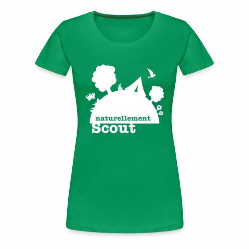Naturellement Scout - T-shirt Premium Femme