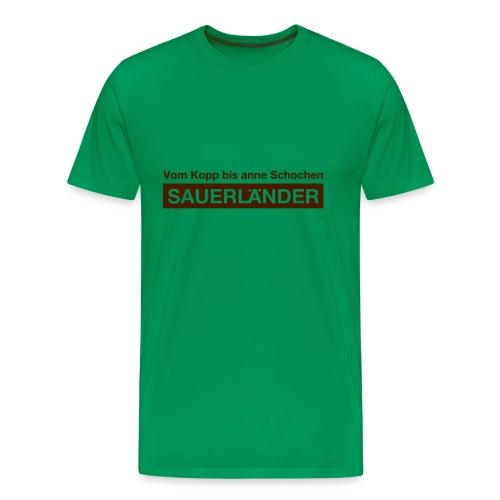 Sauerländer - Männer Premium T-Shirt
