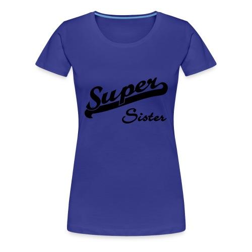 Tee Shirt Super bretonne femme - T-shirt Premium Femme