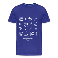 Tee shirts ~ Tee shirt Premium Homme ~ T-shirt-jeu 53·personnages