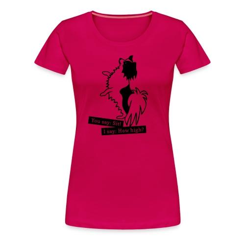 T by How High? - Premium-T-shirt dam