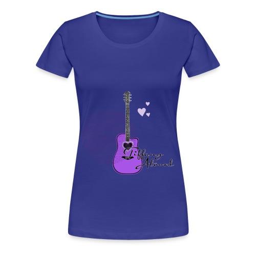 Purple Guitar  - Women's Premium T-Shirt
