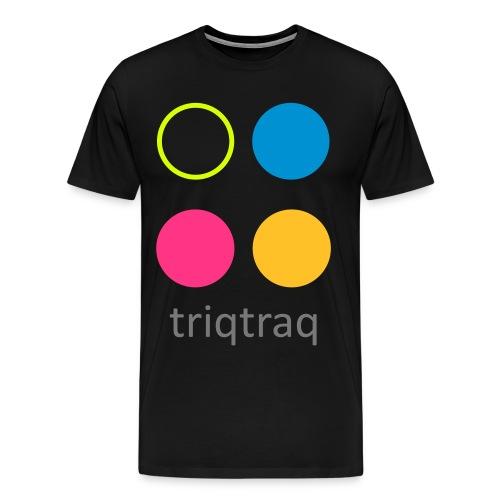 triqtraq MONSTER Logo - Men's Premium T-Shirt
