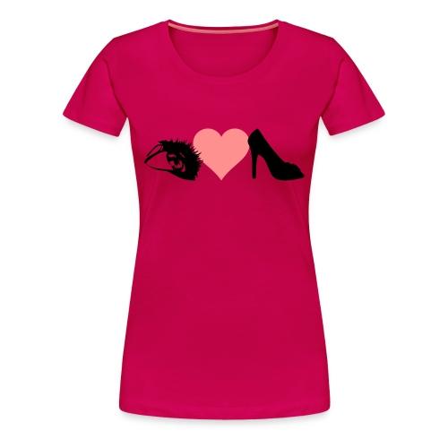 eye love shoes - Women's Premium T-Shirt
