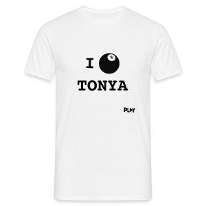 Camiseta I love Tonya - Camiseta hombre