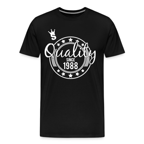 Quality Tee Black - Men's Premium T-Shirt