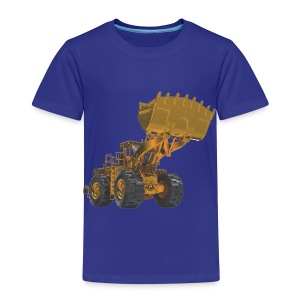 Old Mining Wheel Loader - Yellow - Kids' Premium T-Shirt