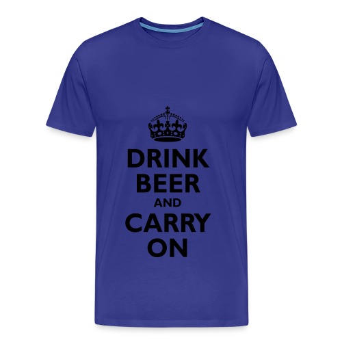 Drinking Team - Mens Tee - Men's Premium T-Shirt