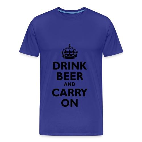 Drinking Team - Mens Tee - Men's Premium T-Shirt